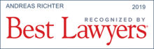 Andreas Richter - recognized by Best Lawyers 2019