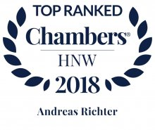 Andreas Richter - ranked in Chambers HNW Guide 2018