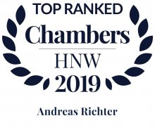 Andreas Richter - ranked in Chambers HNW Guide 2019
