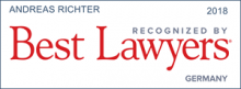 Andreas Richter - recognized by Best Lawyers 2018