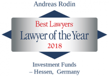 Andreas Rodin -Best Lawyers, lawyer of the year 2018