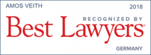 Amos Veith - recognized by Best Lawyers 2018