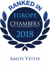 Amos Veith - ranked in Chambers Europe 2018