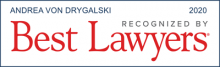 Andrea von Drygalski - recognized by Best Lawyers 2020