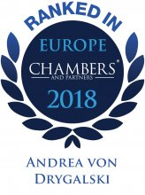 Andrea von Drygalski - ranked in Chambers Europe 2018