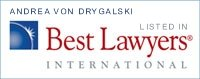 Andrea von Drygalski - listed in Best Lawyers International