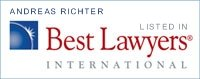 Andreas Richter - recognized by Best Lawyers International