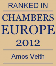Amos Veith - ranked in Chambers Europe 2012