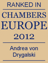 Andrea von Drygalski - ranked in Chambers Europe 2012