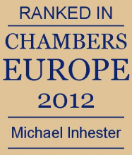 Michael Inhester - ranked in Chambers Europe 2012