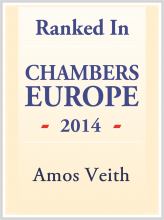 Amos Veith - ranked in Chambers Europe 2014