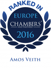 Amos Veith - ranked in Chambers Europe 2016