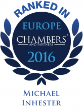 Michael Inhester - ranked in Chambers Europe 2016