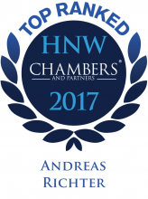 Andreas Richter - ranked in Chambers HNW Guide 2017