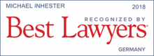 Michael Inhester - recognized by Best Lawyers 2018