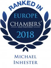 Michael Inhester - ranked in Chambers Europe 2018