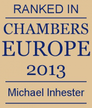 Michael Inhester - ranked in Chambers Europe 2013