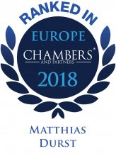 Matthias Durst - ranked in Chambers Europe 2018