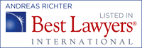 Andreas Richter - recognized by Best Lawyers 2014-2015