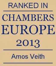 Amos Veith - ranked in Chambers Europe 2013