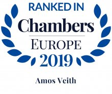 Amos Veith - ranked in Chambers Europe 2019