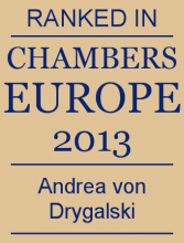 Andrea von Drygalski - ranked in Chambers Europe 2013