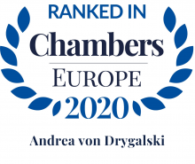 Andrea von Drygalski - ranked in Chambers Europe 2020