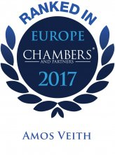 Amos Veith - ranked in Chambers Europe 2017