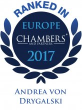Andrea von Drygalski - ranked in Chambers Europe 2017