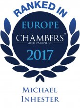 Michael Inhester - ranked in Chambers Europe 2017
