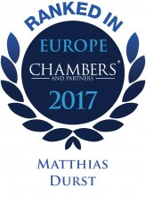 Matthias Durst - ranked in Chambers Europe 2017