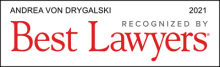 Andrea von Drygalski - recognized by Best Lawyers 2021