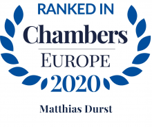 Matthias Durst - ranked in Chambers Europe 2020