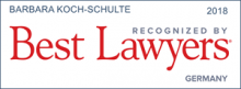 Barbara Koch-Schulte - recognizes by Best Lawyers 2018