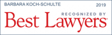 Barbara Koch-Schulte - recognizes by Best Lawyers 2019