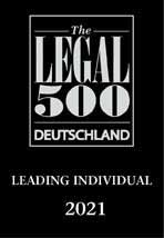 Andreas Rodin - The Legal 500 Deutschland 2021 Leading Individual