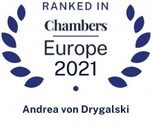 Andrea von Drygalski - ranked in Chambers Europe 2021